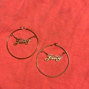 Dangle Juicy Hoop Earrings